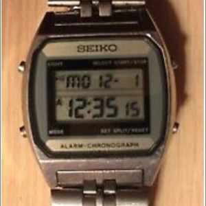 Seiko A904 5000 Digital Vtg Watch